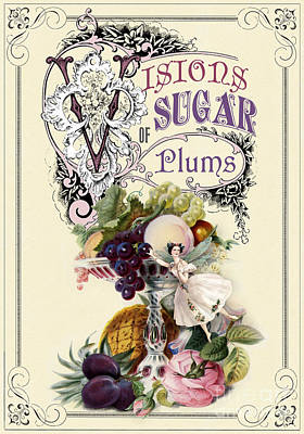 Visions Of Sugar Plums Poster by Cindy Garber Iverson