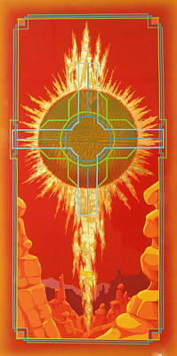 Visitation Poster by Alan Johnson