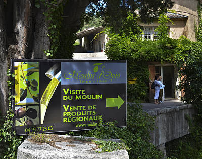 Poster featuring the photograph Visite Du Moulin by Allen Sheffield