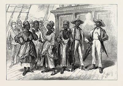 Visitors On Board The Volta Poster