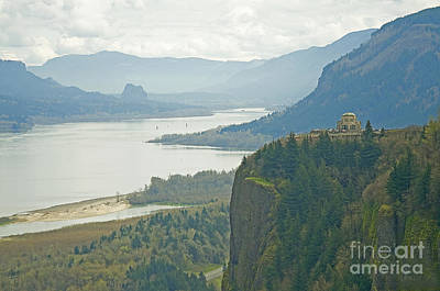 Vista House At Crown Point Poster