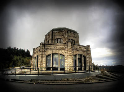Vista House At Crown Point - Oregon Poster by Daniel Hagerman