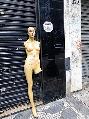 Viva O Meu Corpo - Sao Paulo Poster by Julie Niemela