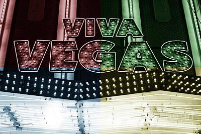 Viva Vegas Fusion Poster