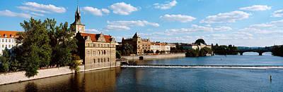 Vltava River, Prague, Czech Republic Poster by Panoramic Images