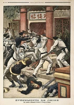 �v�nements De Chine Les Marins Poster by Everett