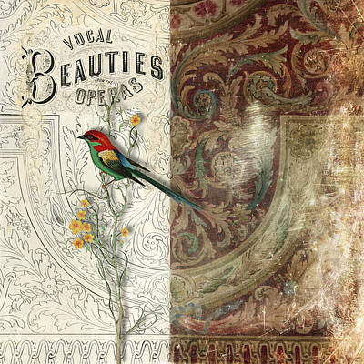 Vocal Beauties Poster by Aimee Stewart