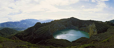 Volcanic Lake On A Mountain, Mt Poster by Panoramic Images