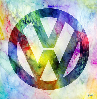 Volkswagon Logo Poster