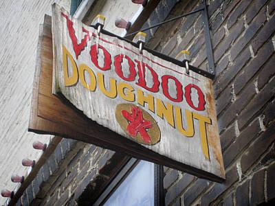 Voodoo Doughnuts Poster by Nancy Ingersoll