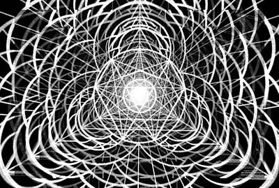 Vortex Equilibrium Poster by Derek Gedney