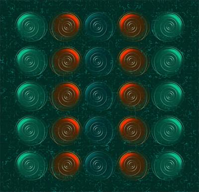Vortices Poster by Anastasiya Malakhova