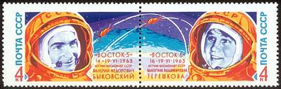 Vostok 5 And 6 Poster