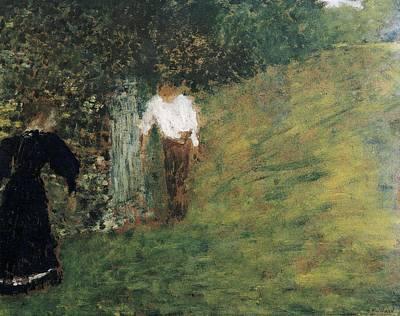 Vuillard, Edouard 1868-1940. Man Poster by Everett