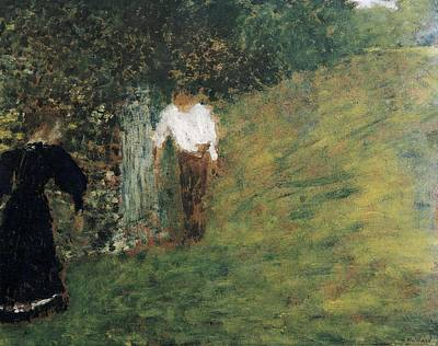 Vuillard, Edouard 1868-1940. Man Poster