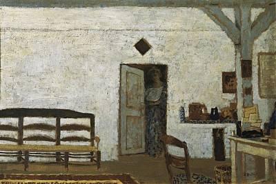 Vuillard, Edouard 1868-1940. Misia Poster