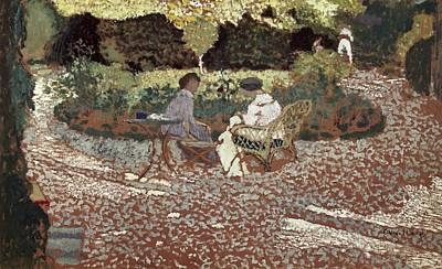 Vuillard, Edouard 1868-1940. Repast Poster