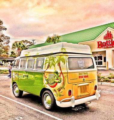 Vw Bus Stop Poster