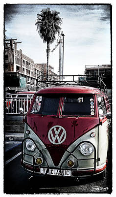 Vw Classic Poster by Ron Regalado