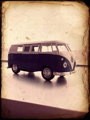 Vw Micro Bus Redux Poster by Richard Reeve