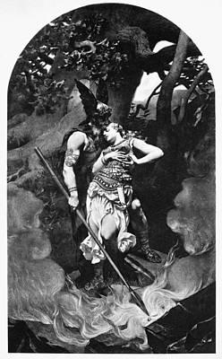 Wagner Die Walk�re, 1856 Poster by Granger