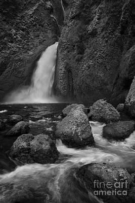 Wahclella Falls Poster by Keith Kapple