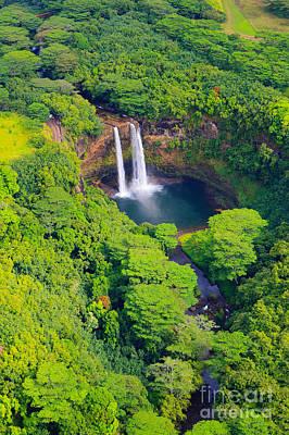 Wailua Falls - Kauai Poster