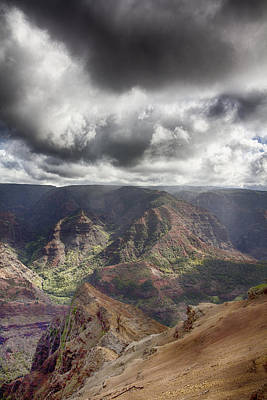 Waimea Canyon Lookout V5 Poster