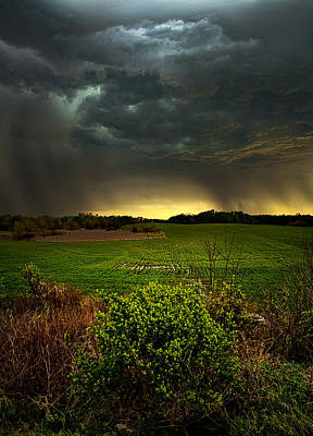 Waiting For Rain Poster by Phil Koch