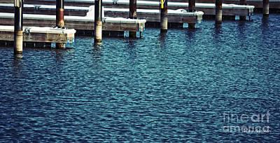 Waiting For Summer - Boat Slips Poster