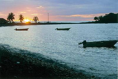 Waitukubuli Sunset Poster