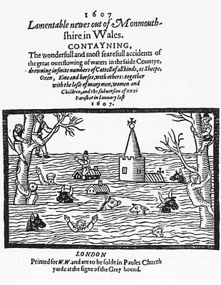 Wales Flood, 1607 Poster by Granger