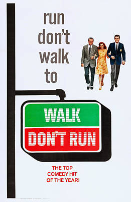 Walk, Dont Run, Us Poster Art Poster by Everett