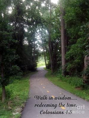 Walk In Wisdom Poster
