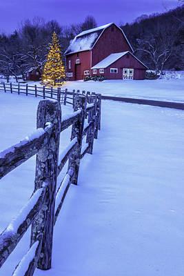 Walking In A Winter Wonderland Poster by Thomas Schoeller