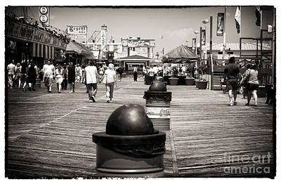 Walking The Boardwalk Poster