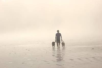 Walking The Dog Florentia Poster by Brian Sereda
