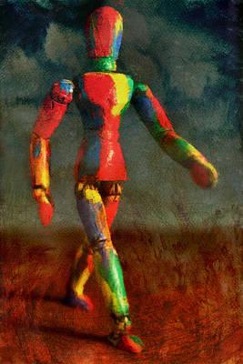 Walking The Walk Poster by Jeff  Gettis