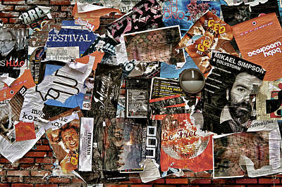 Wall Of Babel Poster