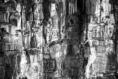 Wall Of Rock Poster by Miroslava Jurcik
