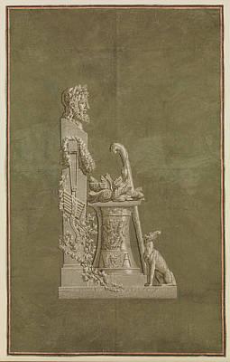 Wallpaper Panel Depicting Winter Poster