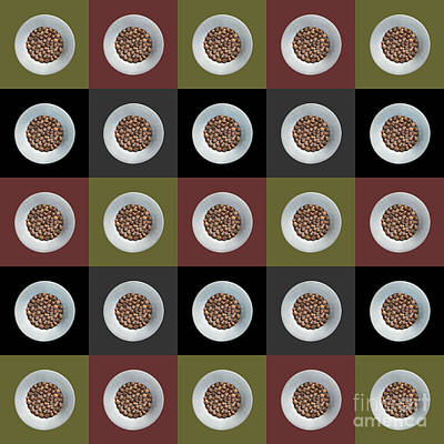 Walnut 5x5 Collage 1 Poster by Maria Bobrova