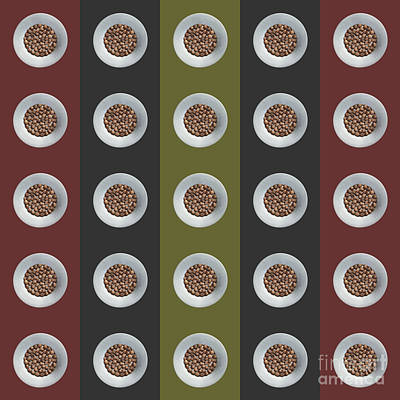 Walnut 5x5 Collage 4 Poster by Maria Bobrova