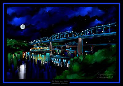 Walnut Street Bridge - Chattanooga Landmark Series - # 1 Poster