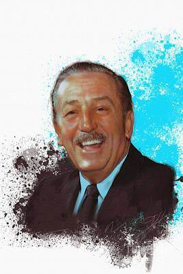 Walt Disney Poster by Roger Lighterness