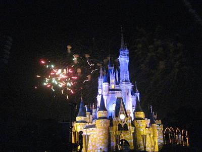 Walt Disney World Resort - Magic Kingdom - 121220 Poster by DC Photographer