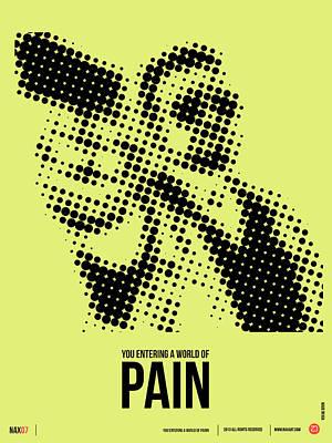 Walter Big Lebowski Poster Poster by Naxart Studio