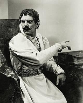Walter Huston As Othello Poster by Lusha Nelson