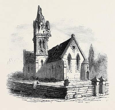 Walton Church, Stafford, Struck By Lightning Poster