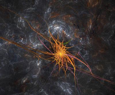 Wandering In Space Poster by Bijan Studio